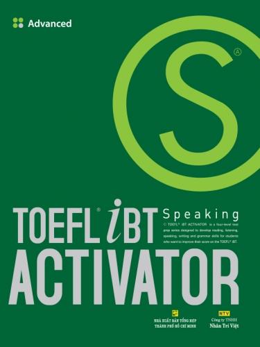 TOEFL iBT Activator Speaking Advanced