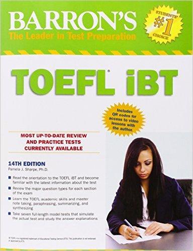 Free Download Barron's TOEFL iBT, 14th Edition [Ebook + Audio CD]