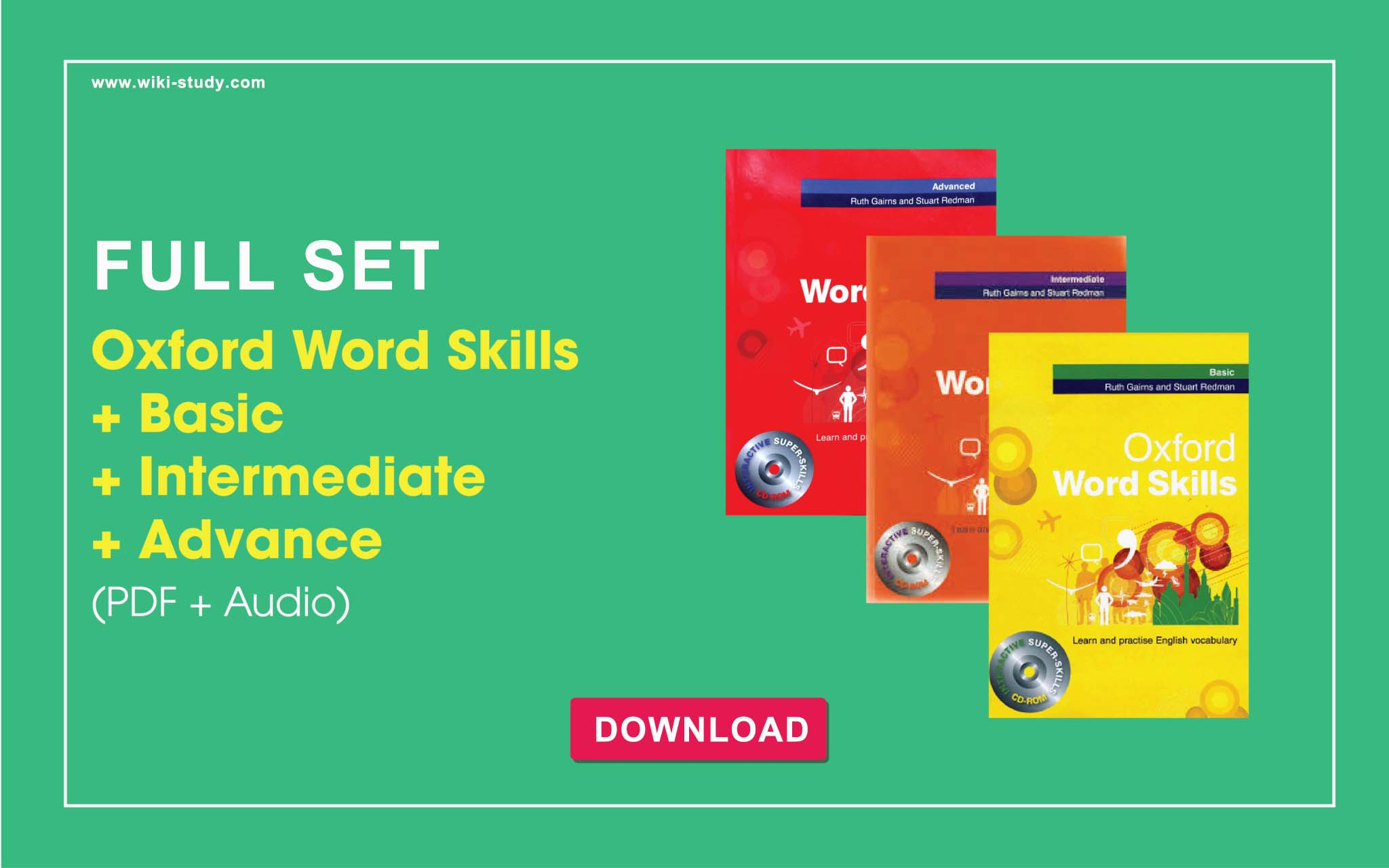 Oxford Word Skills Basic Intermediate Advanced Set Pdf Audio
